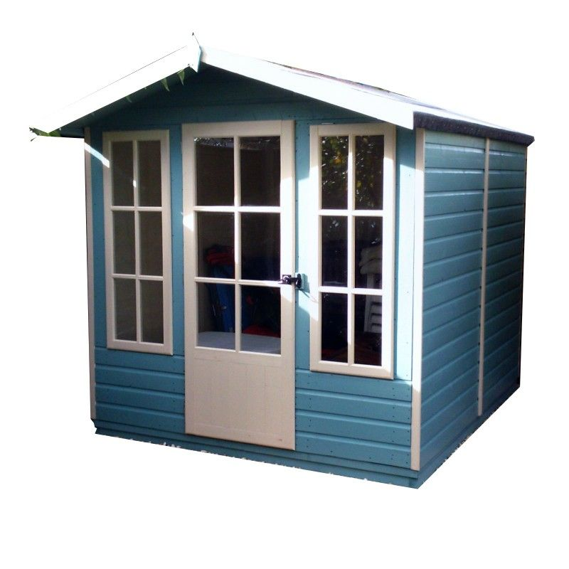 Shire Chatsworth 7X7 Timber Summerhouse Summer house