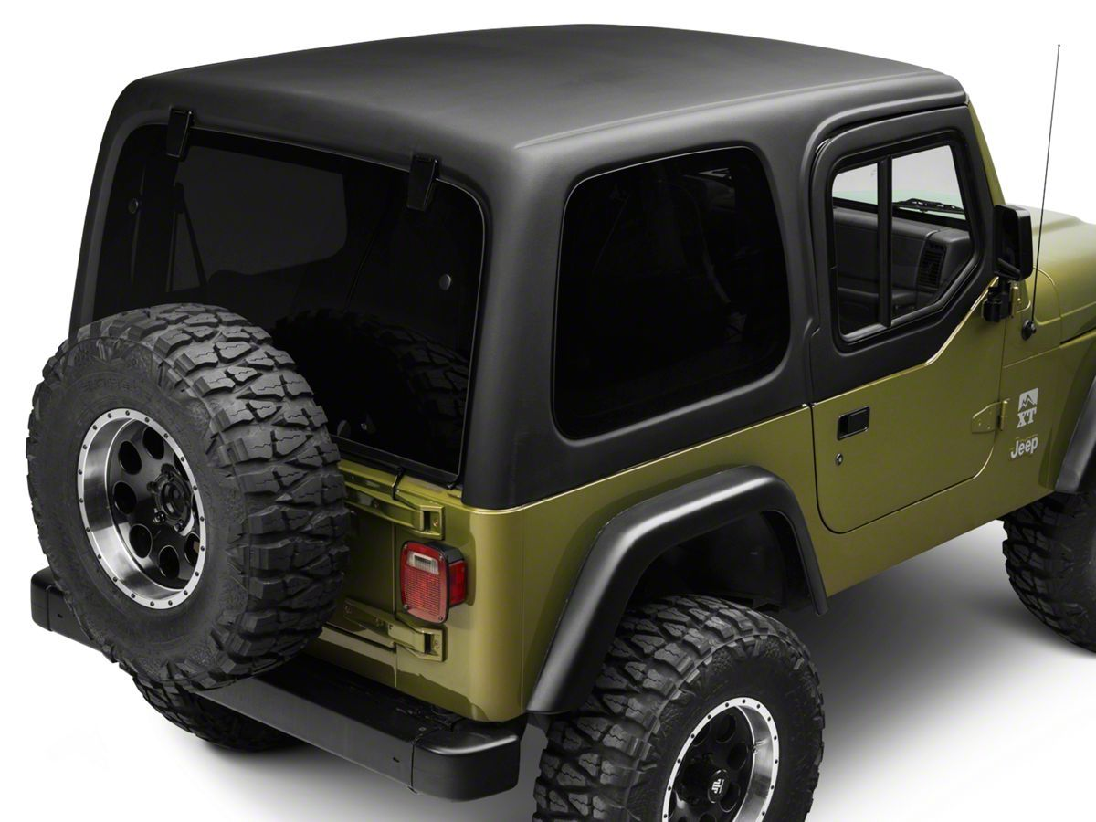 Rally Tops One Piece Hardtop For Half Doors 97 06 Jeep Wrangler Tj Excluding Unlimited Jeep Wrangler Tj Wrangler Tj Jeep Wrangler