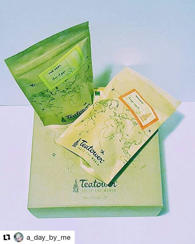 Hmm le thé vert ! #Repost @a_day_by_me with @repostapp  Goodmorning instafam which one should I try? #greentea #rooibos #tea #teatower #goodmorning #teatime #metime #insta #instagram #instapic #instadaily #instalike #instalikes #follow #formore #dailypic #feed