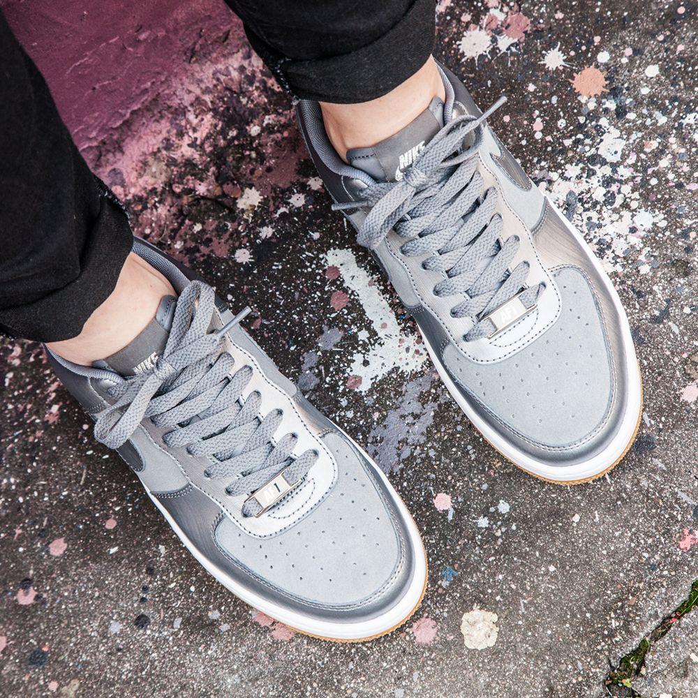 Nike Women s Air Force 1 Airness in Grey (083770 - £69.99)  Footasylum 3f6e665b1