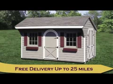 Custom Storage Sheds NJ And PA Amish Built | Barnco Woodworks