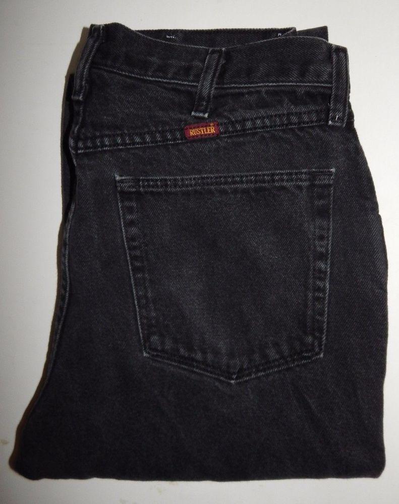 e4f81e0a Men's Rustler Jeans by Wrangler Size 33 x 32 Gray #RustlerbyWrangler  #ClassicStraightLeg
