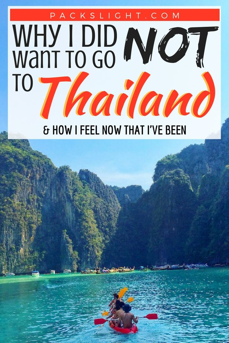Why I Did NOT Want to Visit Thailand My Experience in
