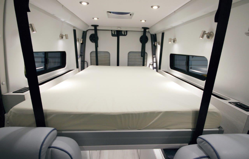 Sprinter with EuroLoft Bed Lift in 2020 Bed lifts, Ford