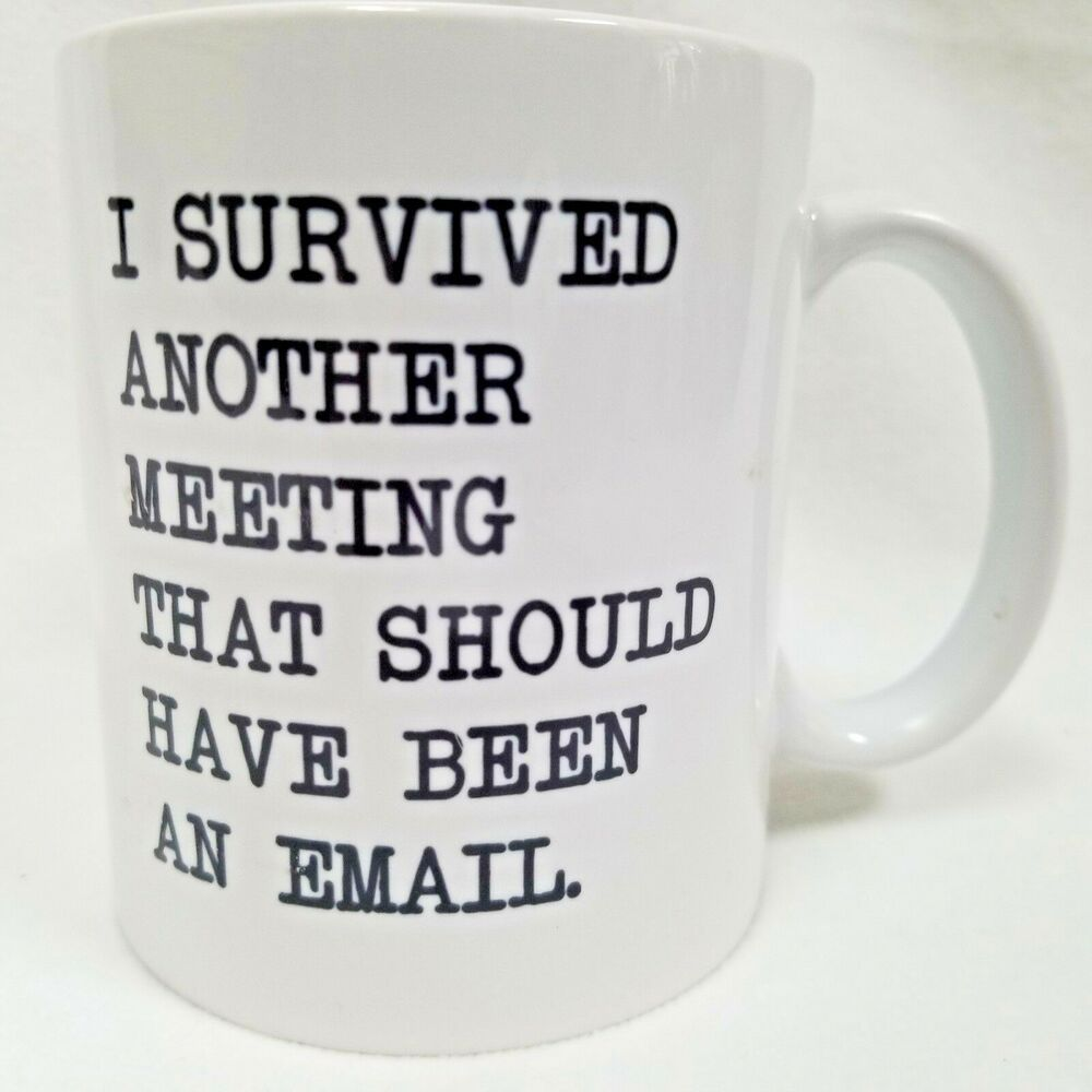 I Survived Another Meeting That Should Have Been An Been An Email