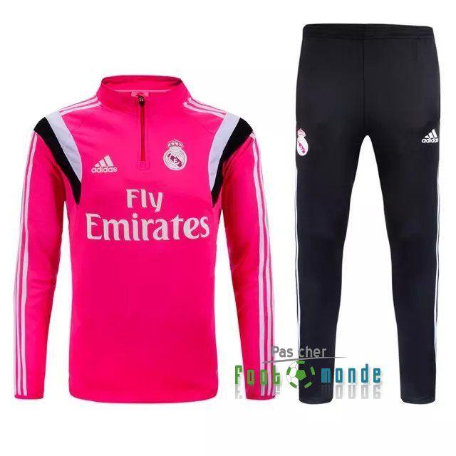 Nouveau Survetement de foot Real Madrid Rose 2015 2016  5f76a5234084f