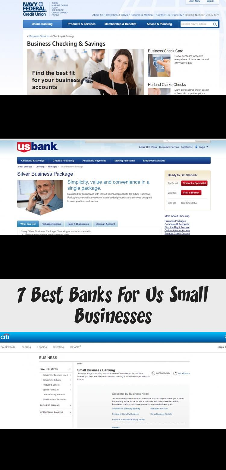 When You Re Starting Up In One Of The Best Small Business Markets In The World You Need To Know Which In 2020 Best Bank Navy Federal Credit Union Wells Fargo Business