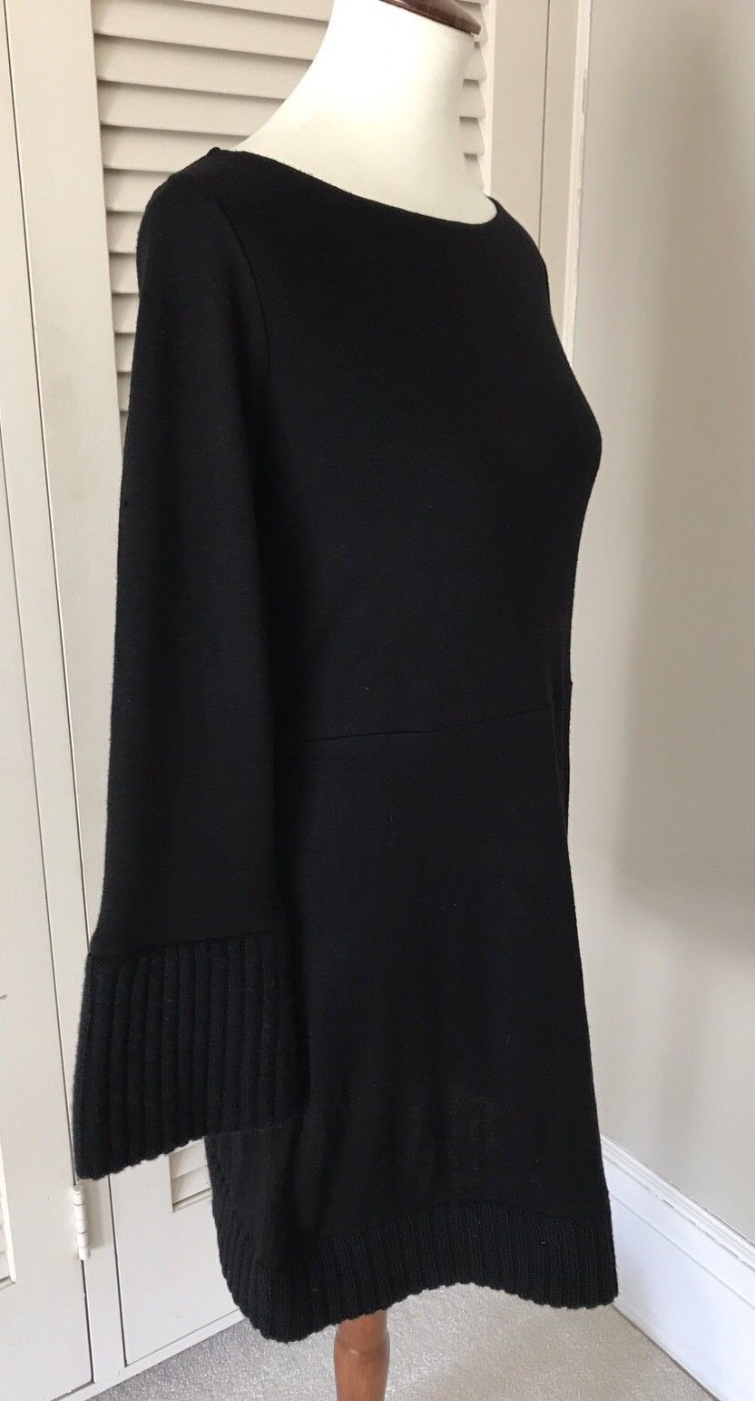 Nice Amazing Alice   Olivia Black Long Sleeve Tunic Sweater Dress ...