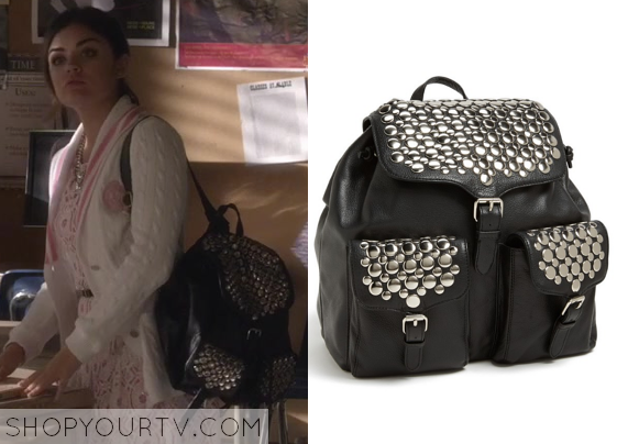 Pretty Little Liars Backpack April 2017