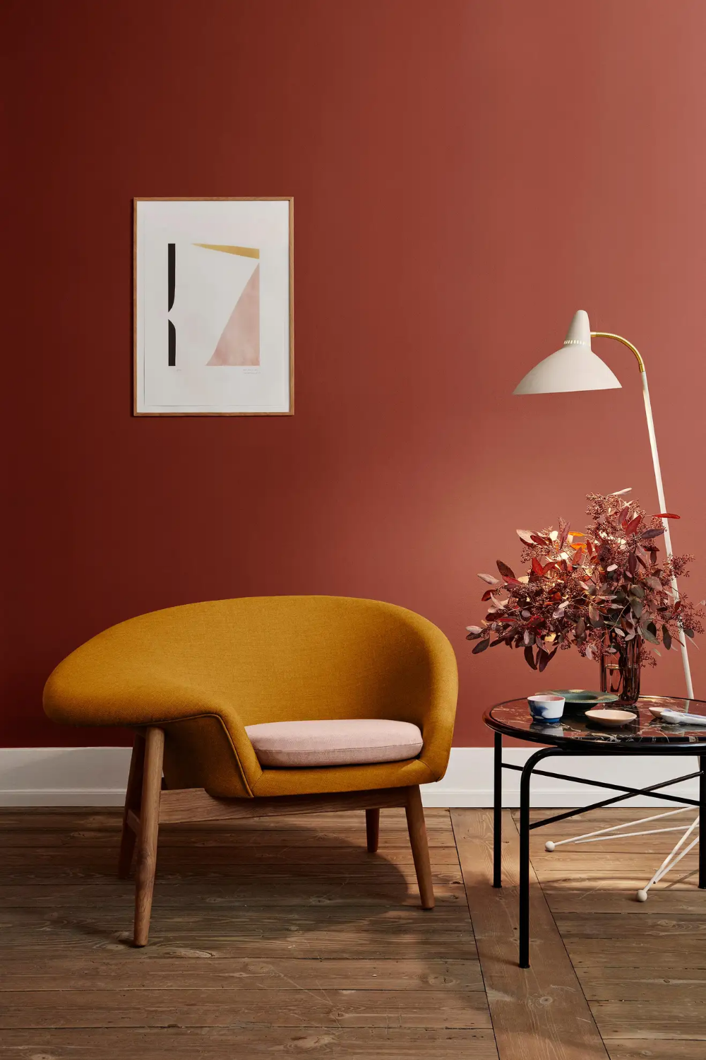 Fried Egg Two-Tone Chair, by Hans Olsen from Warm Nordic