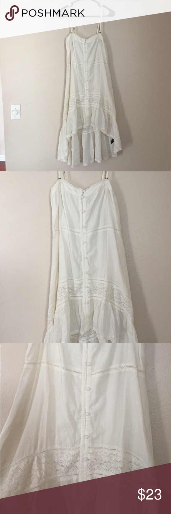 Lace dress cover up  NWT White OuNeill lace dress  beach cover up  Dress beach Beach