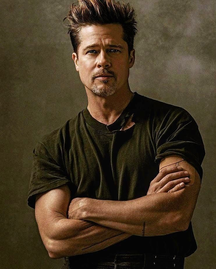 "Brad Pitt on Instagram: ""Brad Pitt in 2016. #Bradpitt ... брэд питт инстаграм"