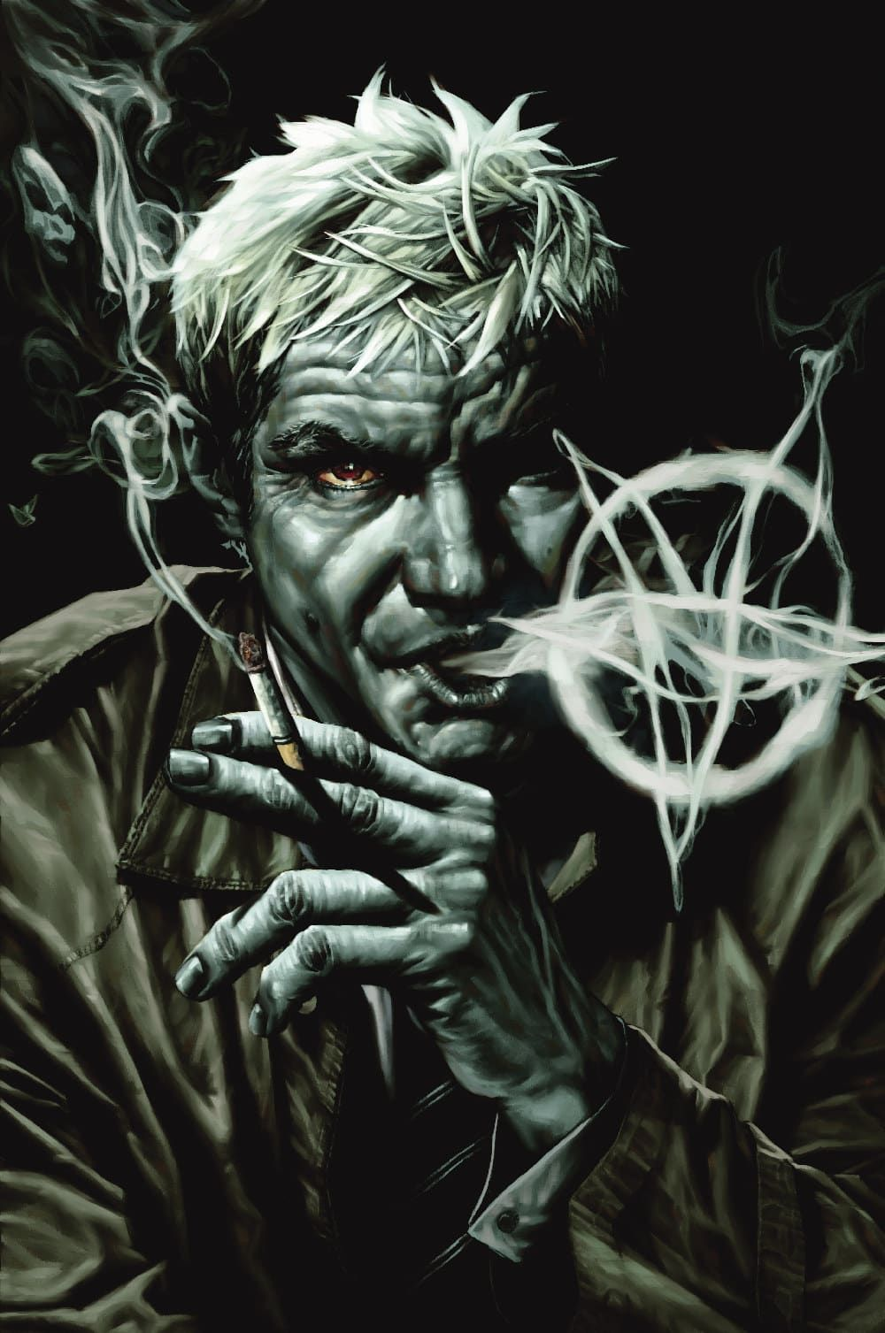 The original Constantine (in the Vertigo Comics series) is one of the few comic book characters to age in real time.