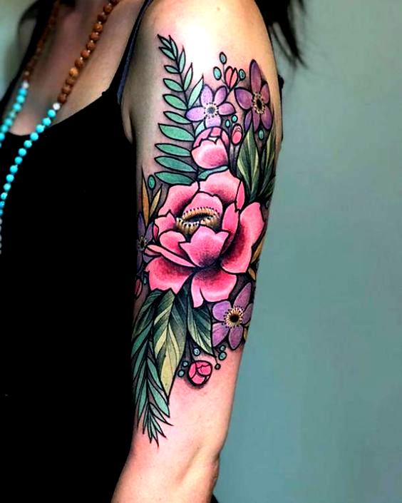 Neo Traditional Sunflower Tattoo : traditional, sunflower, tattoo, Traditional, Tattoos?, Stunning, Tattoo, Ideas, Modern, Tattoos,, Tattoo,, Flowers