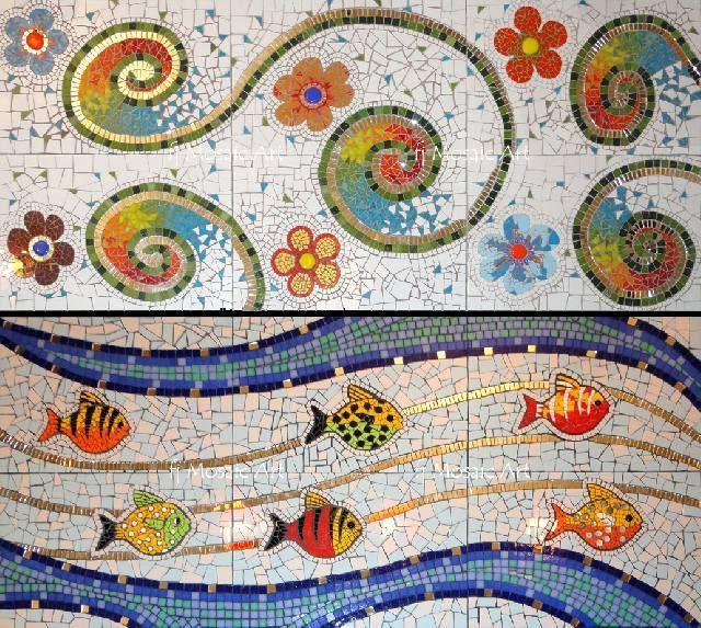 Mosaiquismo tecnica buscar con google mosaiqu smo Murales decorativos para exteriores