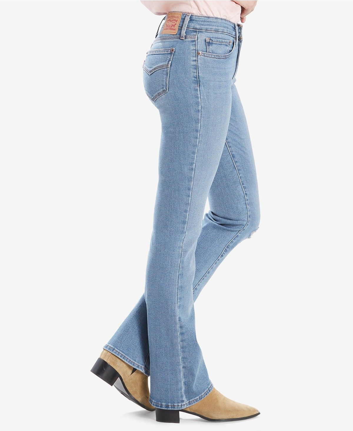 Levi S Women S 715 Bootcut Jeans Reviews Women Macy S Clothes Flattering Fashion Stylish Tops