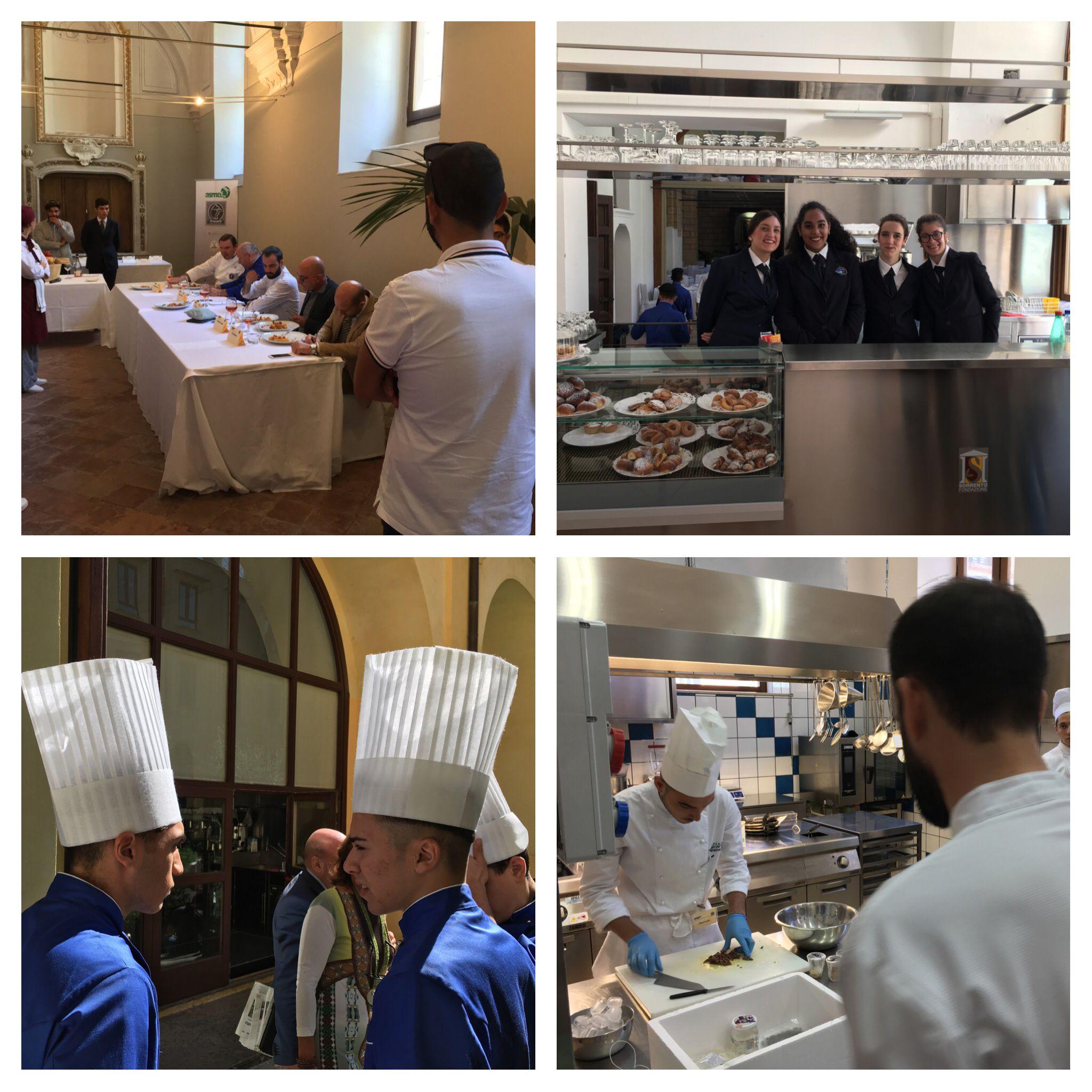 alla finale di capitan cooking la gara di cucina internazionale dove protagonisti sono gli studenti