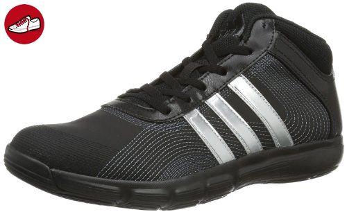 newest c0baa 094a4 Adidas Essential Star Mid D66614 Damen Hallenschuhe, Schwarz (Black 1   Matte Silver