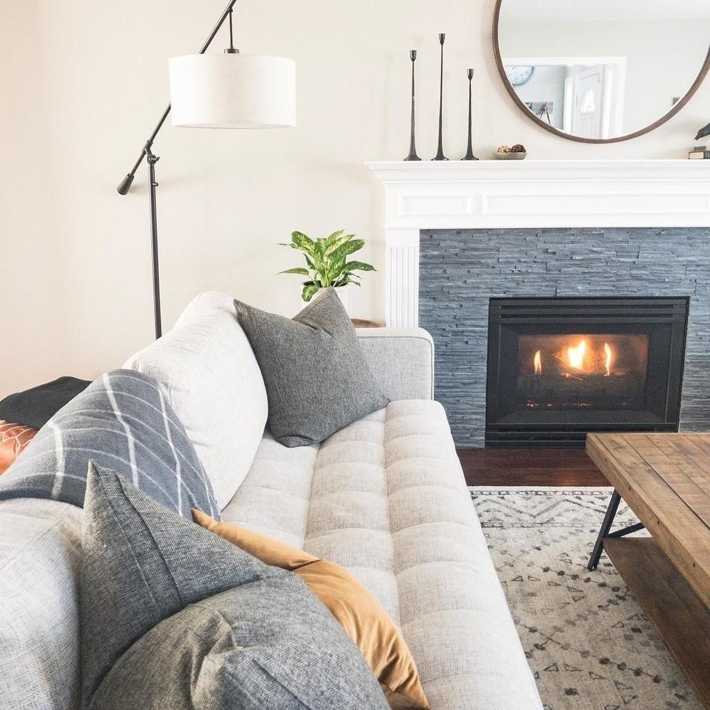 Sven Birch Ivory Sofa Cozy Living Spaces Sofa Colors Contemporary Living Room