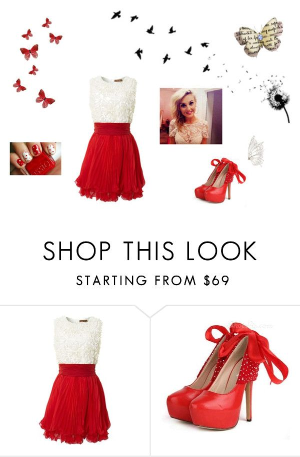 dreams are flying by mikaelavanessa on Polyvore featuring beauty and Jolie Moi