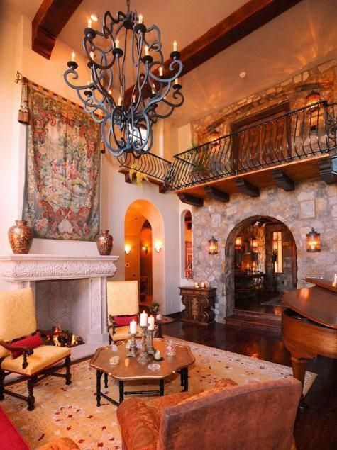 Spanish style decorating ideas interior design styles and color schemes for home also rh pinterest