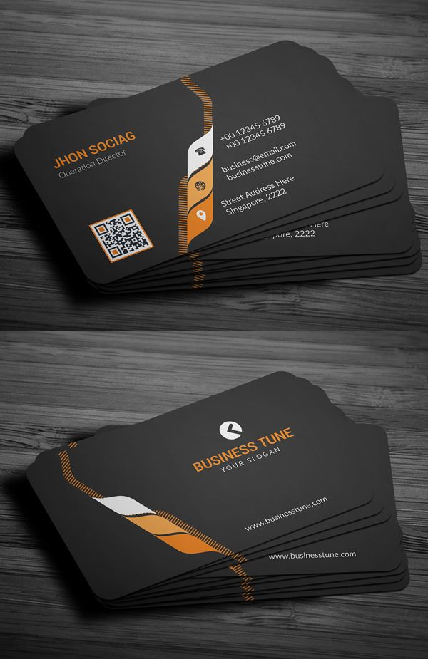 27 New Professional Business Card Psd Templates Design Graphic Design Junction Professional Business Cards Templates Business Card Psd Professional Business Card Design