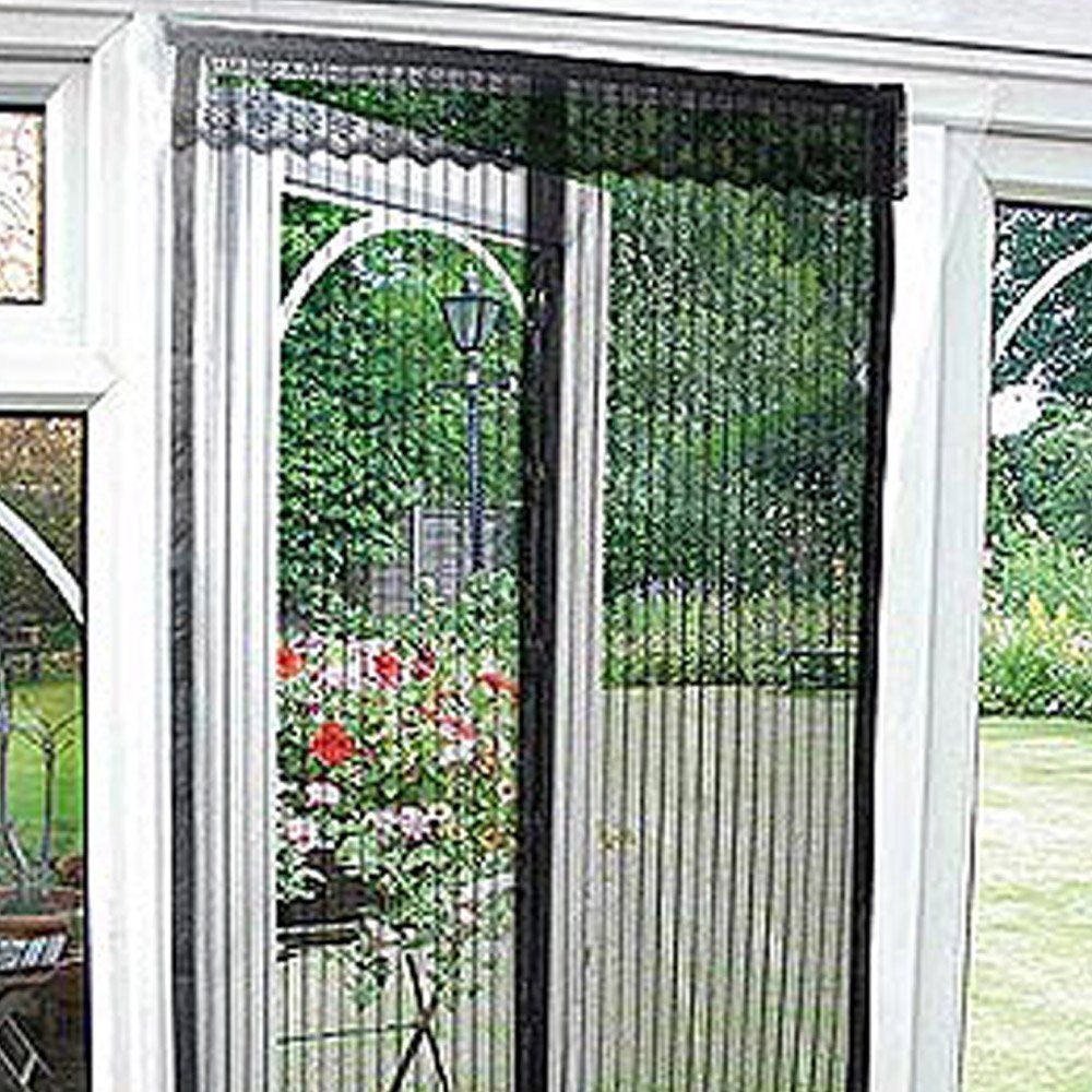 Magnetic flying insect door screen curtain mosquito protector garden magnetic flying insect door screen curtain mosquito protector garden home patio ebay planetlyrics Gallery