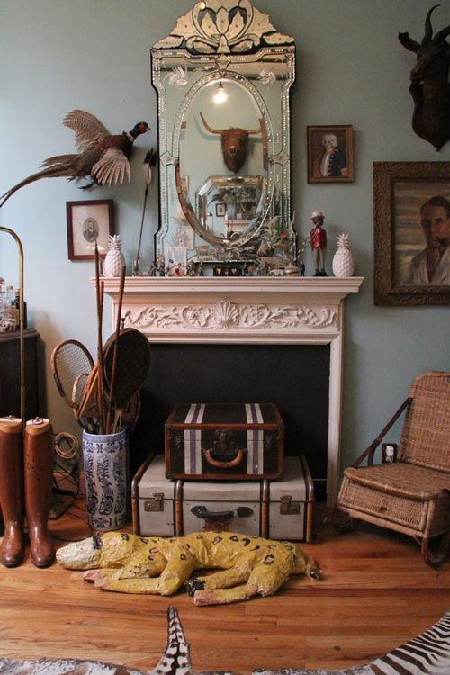 Home of Hollister and Porter Hovey, c/o of Design*Sponge Phenomenal