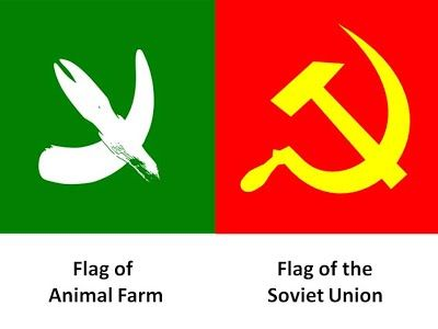 Animal Farm Flag George Orwells Animal Farm Pinterest Farm