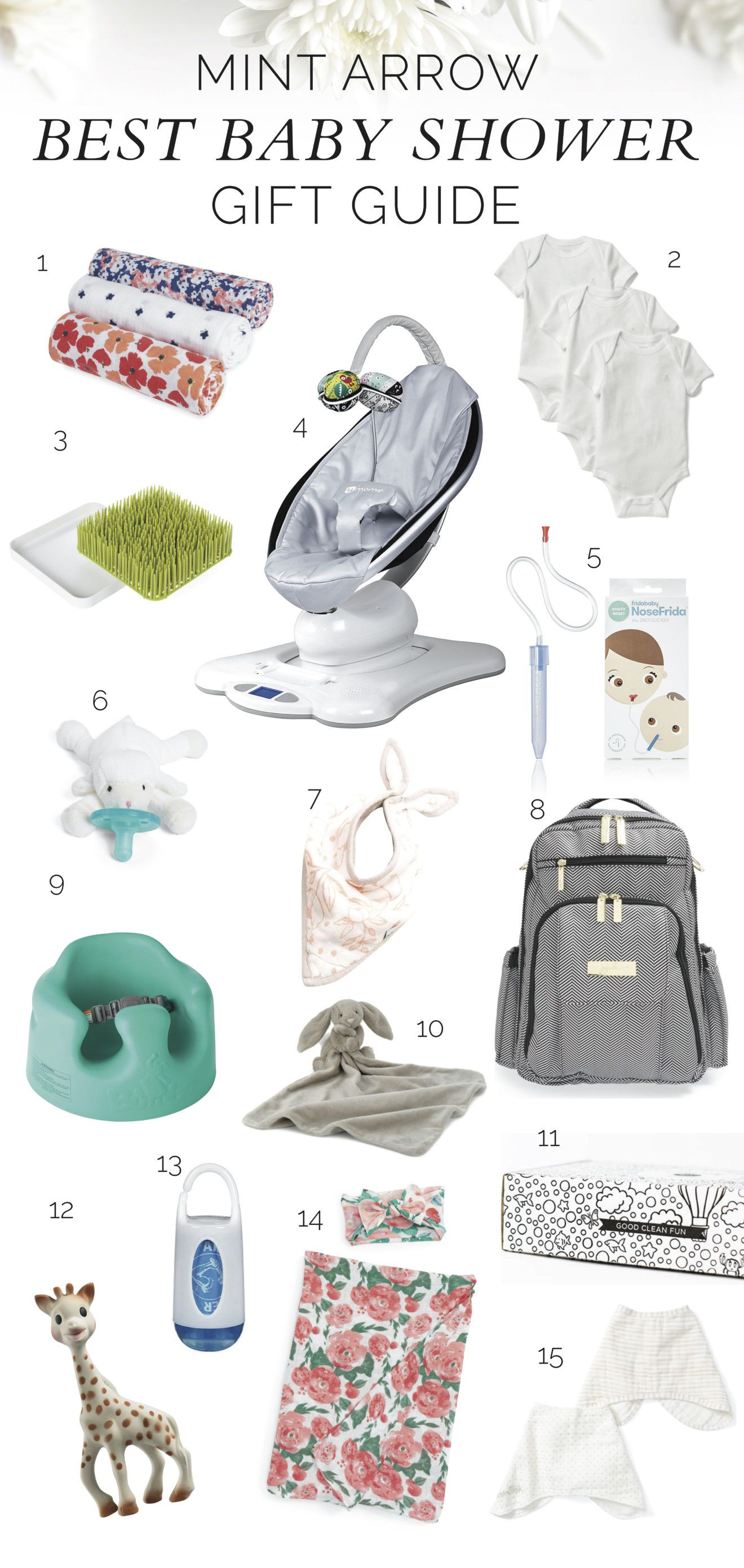 The best baby shower gifts under $15 | ultimate baby gift guide.