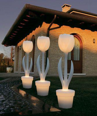Myyour Tulip Outdoor Floor Lamp Pink, Outdoor Floor Lamps For Patio Uk