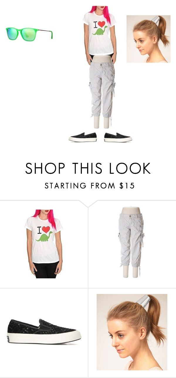 """What I Am Wearing Today #25"" by evabayer ❤ liked on Polyvore featuring Calvin Klein, Converse and Ray-Ban"