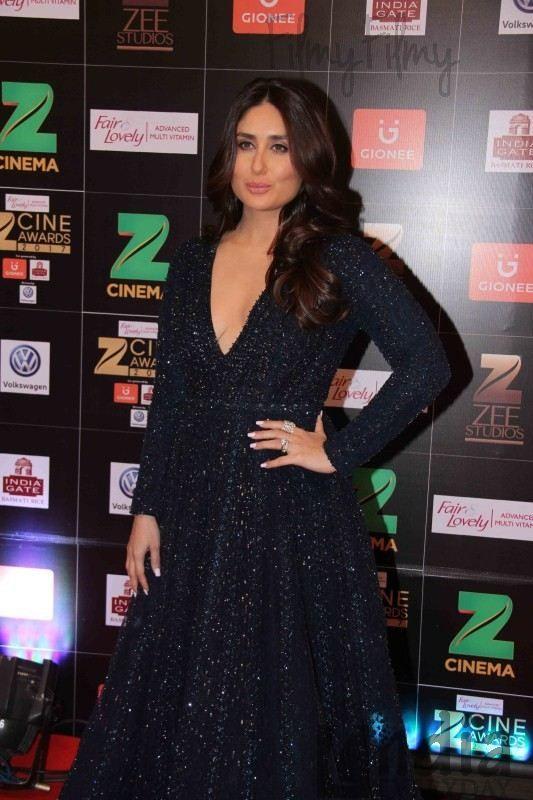 Kareena Kapoor Khan At Zee Cine Awards 2017 2 Elegant Dresses Kareena Kapoor Khan Kareena Kapoor