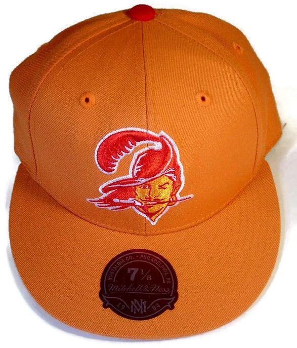Tampa Bay Buccaneers Mitchel   Ness NFL Hat Fitted 7 1 8  MitchellNess   TampaBayBuccaneers 1a8b03655