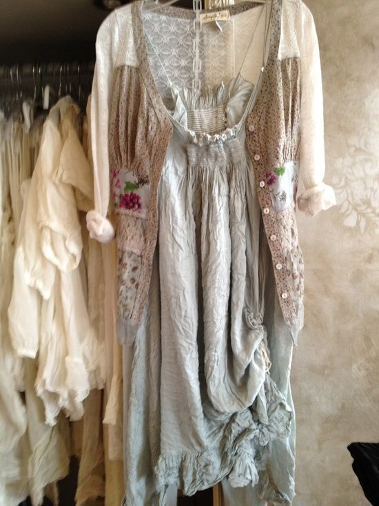 Milk Maiden Style Outfit Shabby Chic Fashion Chic