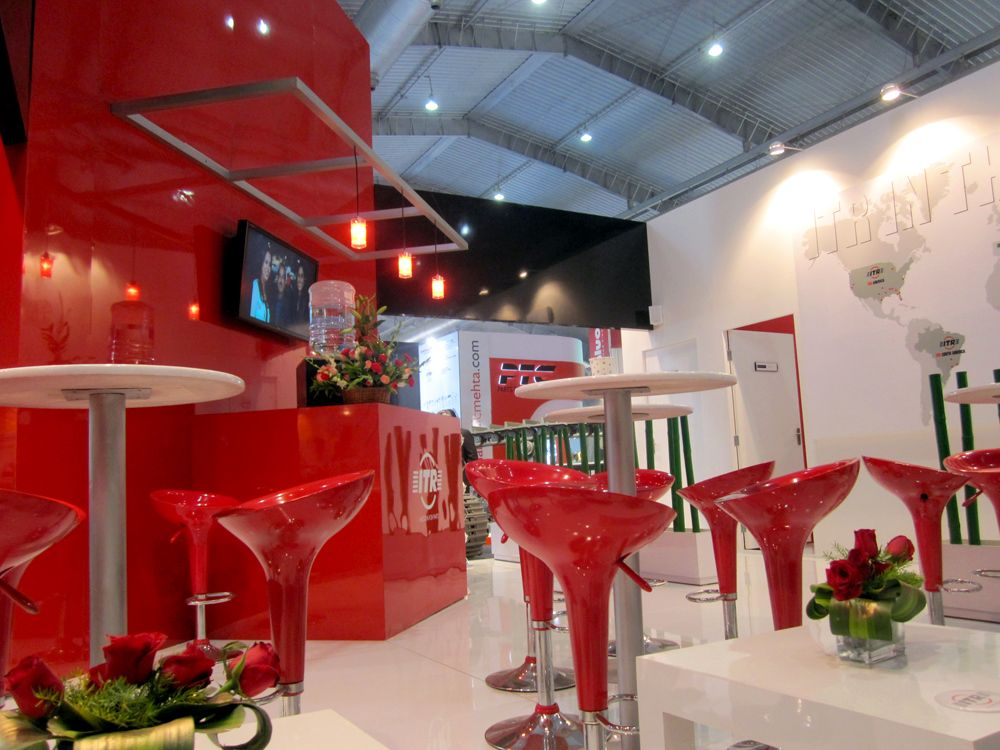 USCO ITR Stand In Bangalore India For Excon Exhibition Designed And Produced By Electra Events