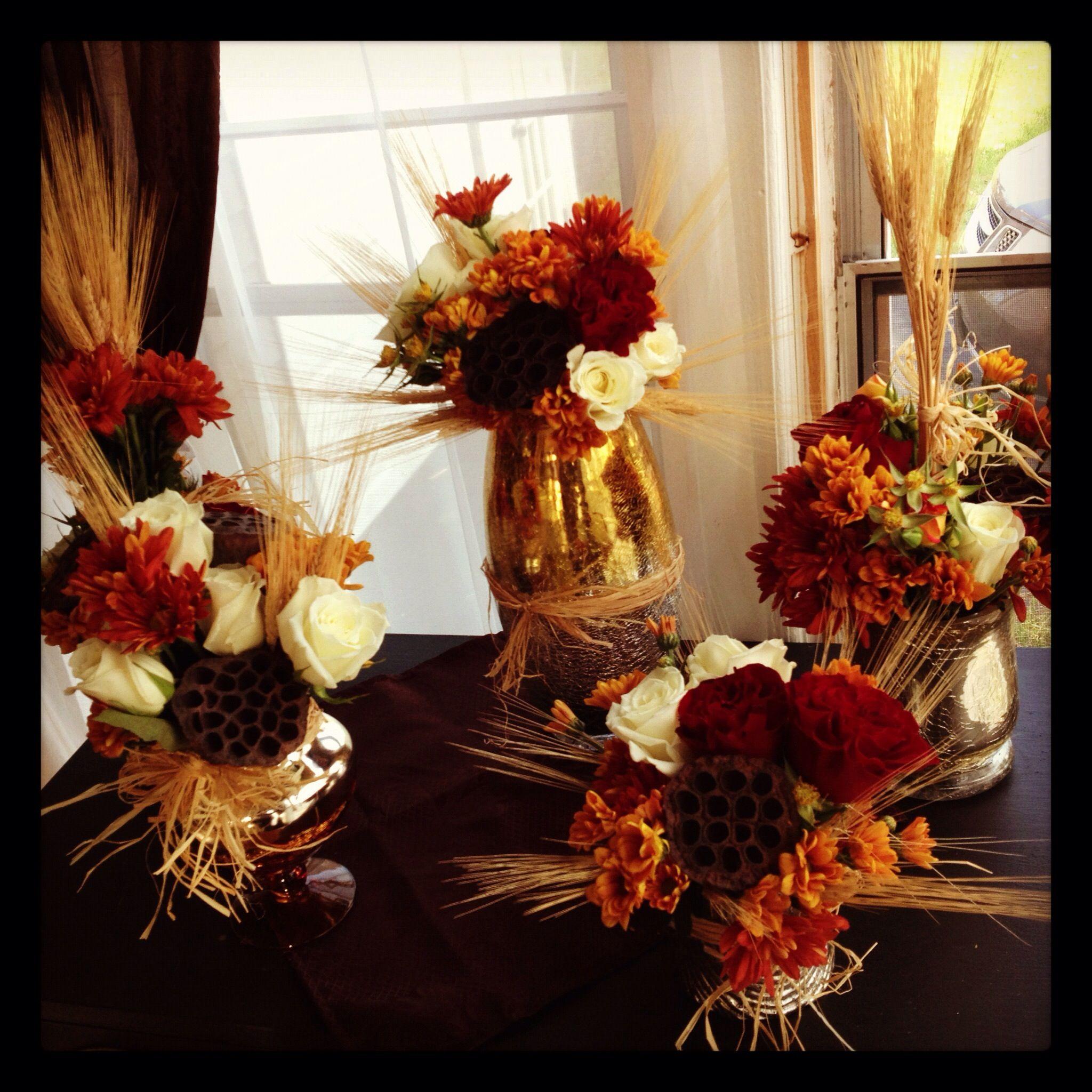 Fall Floral Arrangements Arrangement