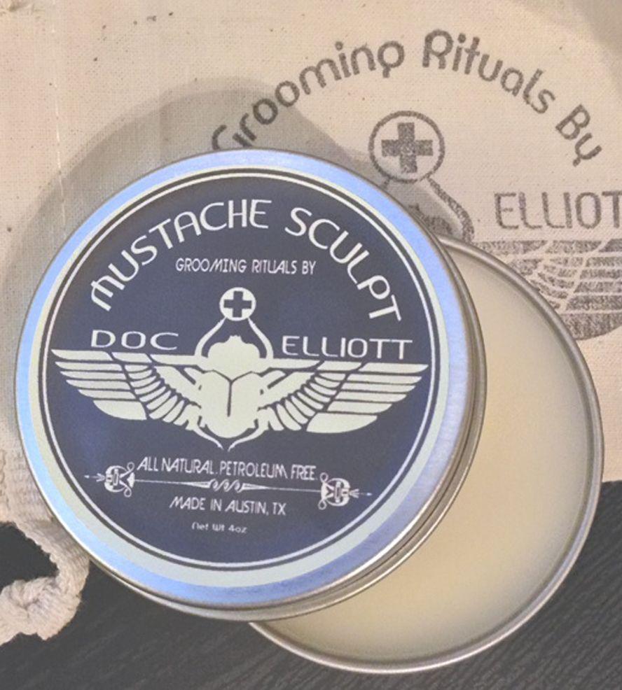 Moustache Sculpt   Men's Grooming   Doc Elliott   Scoutmob Shoppe   Product Detail