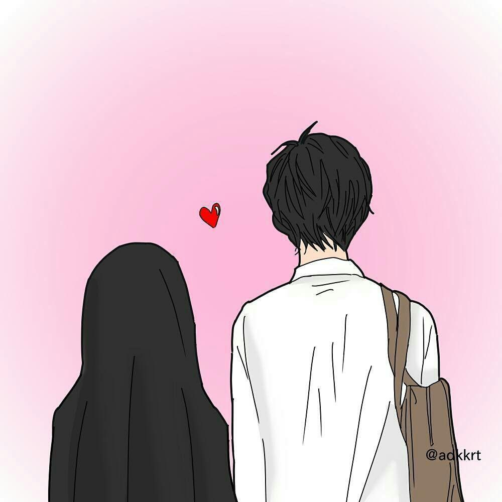 Gambar Muslimah - Couple Halal