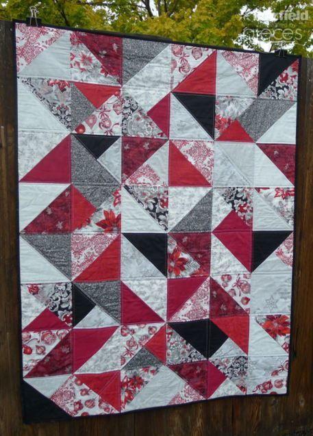 Simple Christmas Fat Quarter Quilt Free Christmas Quilt Patterns Fascinating Christmas Quilt Patterns
