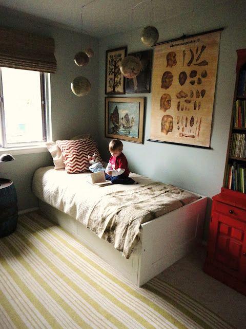 Pure Style Home: Progress In My Boysu0027 Bedroom