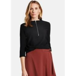 Photo of Gerry Weber 3/4 arm shit with chalice neck black women Gerry WeberGerry Weber