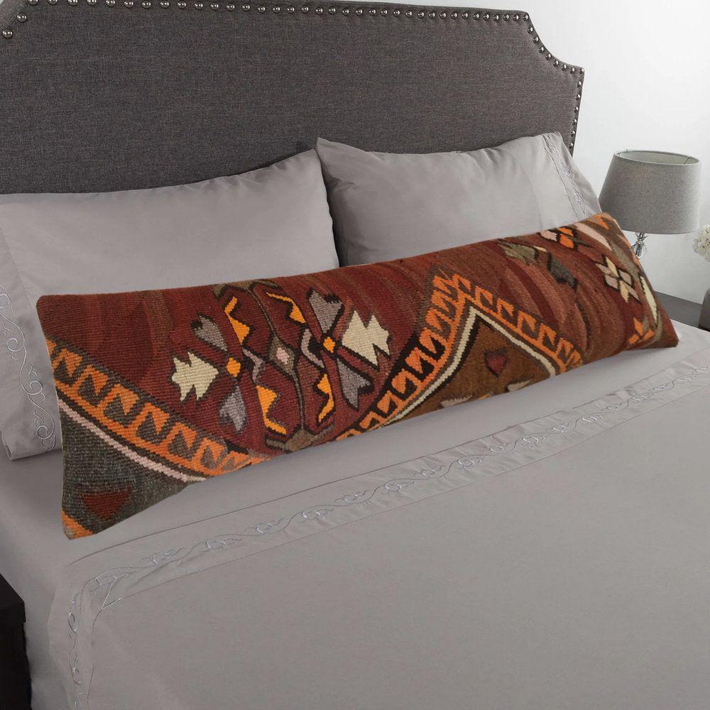 colorful long lumbar pillow covers