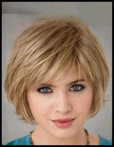 Low Maintenance Short Haircuts   Fine straight hair, Cute ...