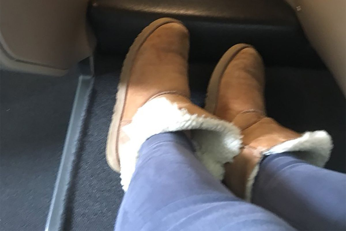 be12ed6d4ad Woman banned from airport lounge for wearing Ugg boots   Weird News ...