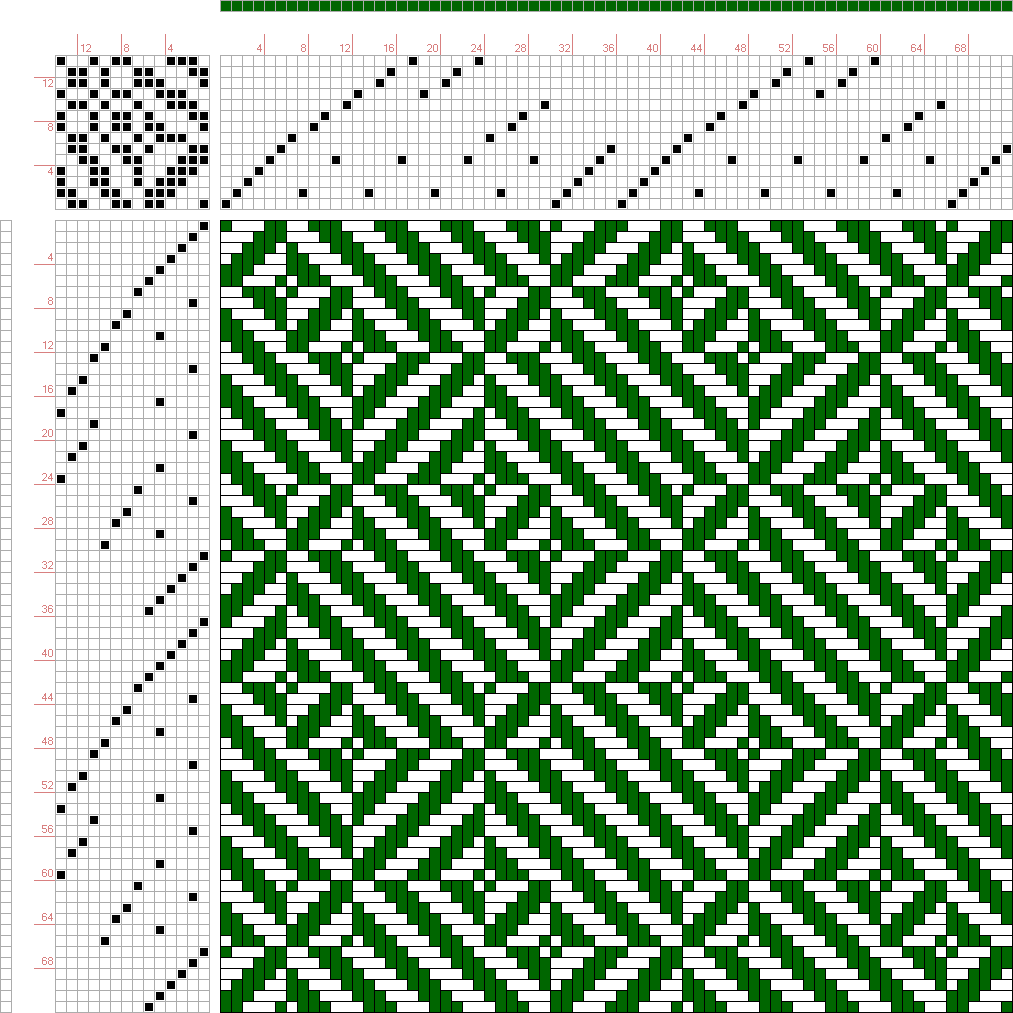 draft image: Page 254, Figure 5, Orimono soshiki hen [Textile System], Yoshida, Kiju, 14S, 14T