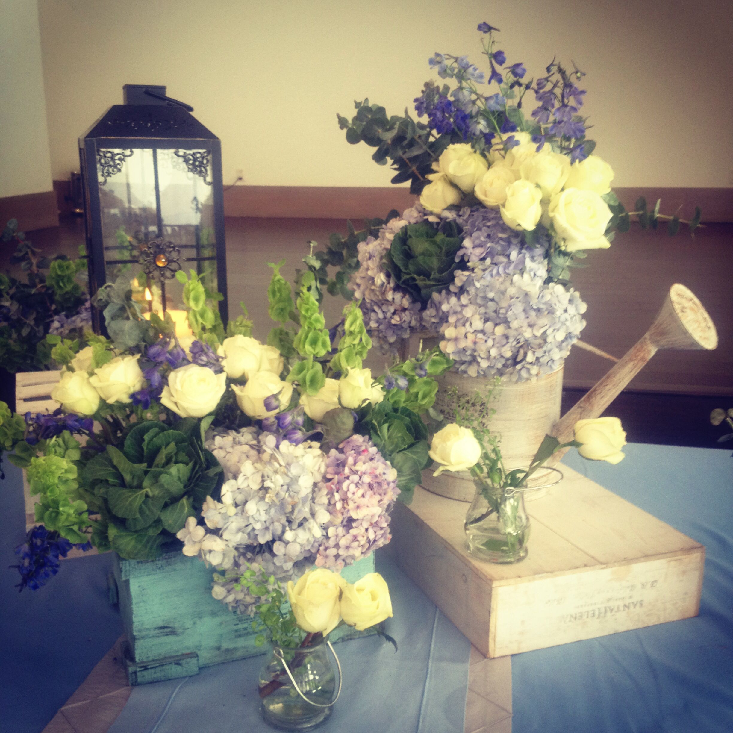 Baby shower flowers Flores Pinterest