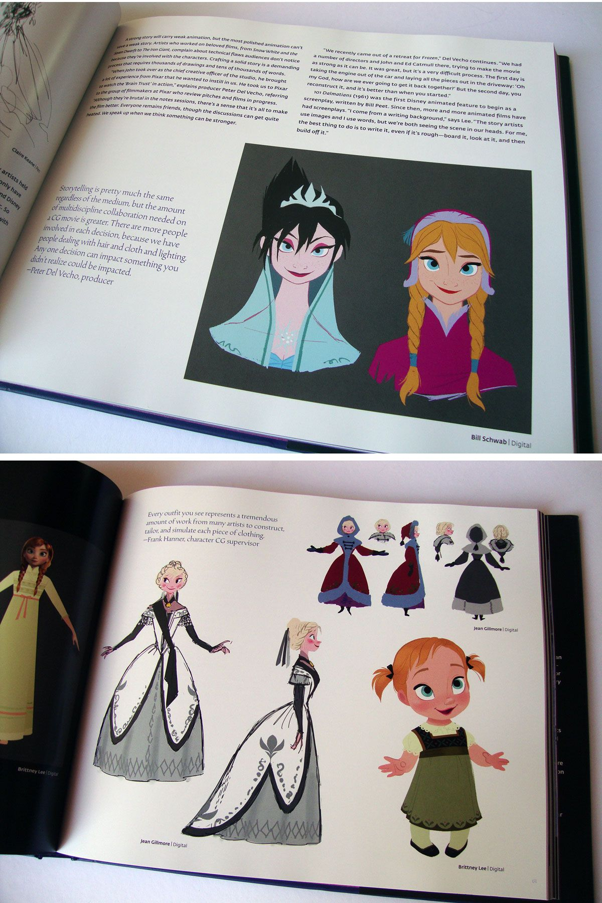 Frozen Concept Art Book