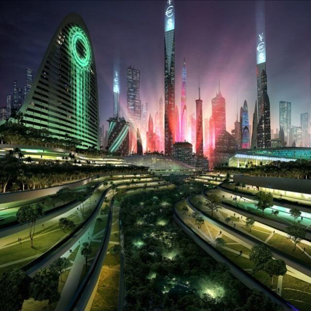 картинки город в прошлом настоящем будущем времени некоторых звезд
