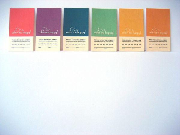 Appointment Cards on Behance Diseño Pinterest Behance